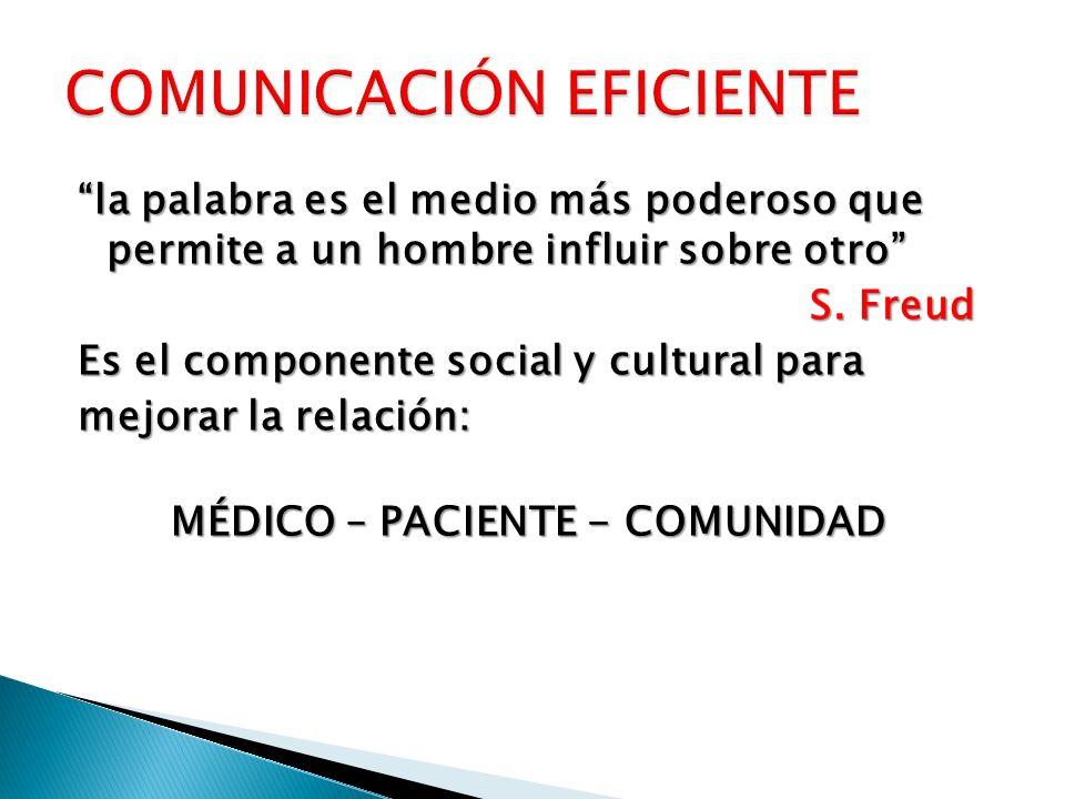 COMUNICACIÓN EFICIENTE