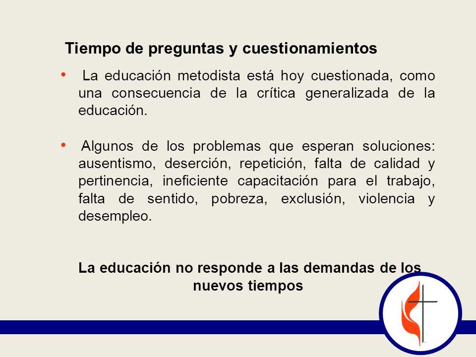 La educación no responde a las demandas de los nuevos tiempos