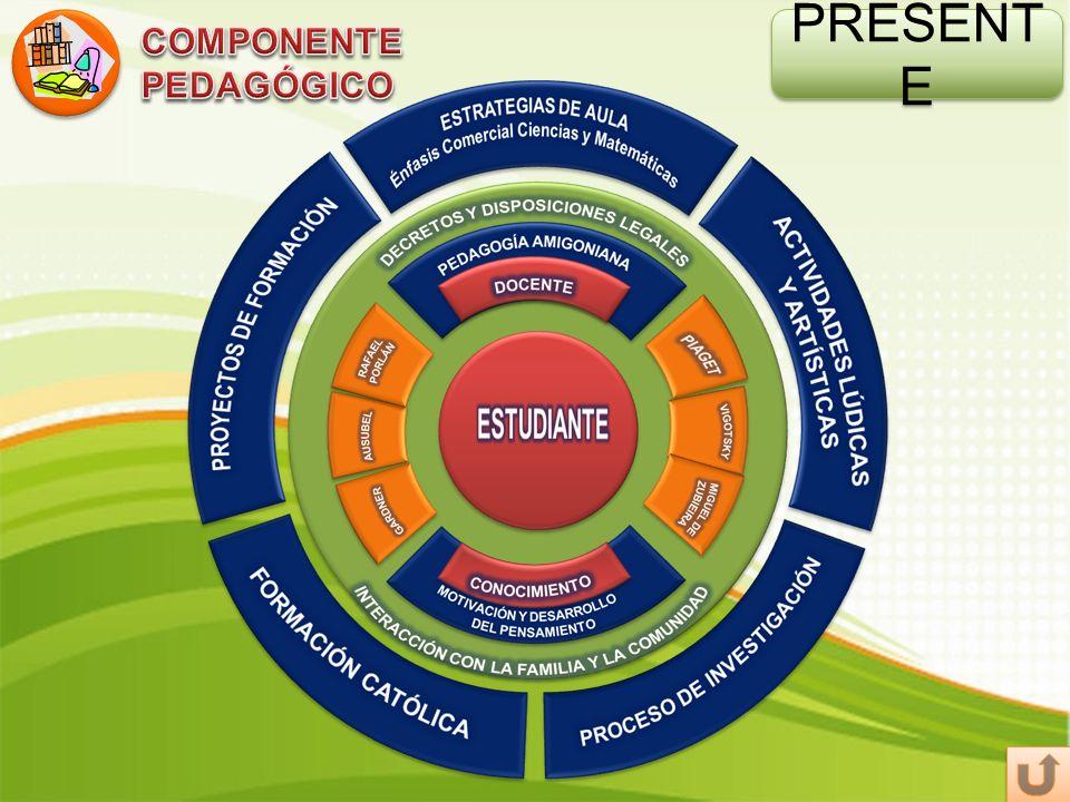 COMPONENTE PEDAGÓGICO PRESENTE
