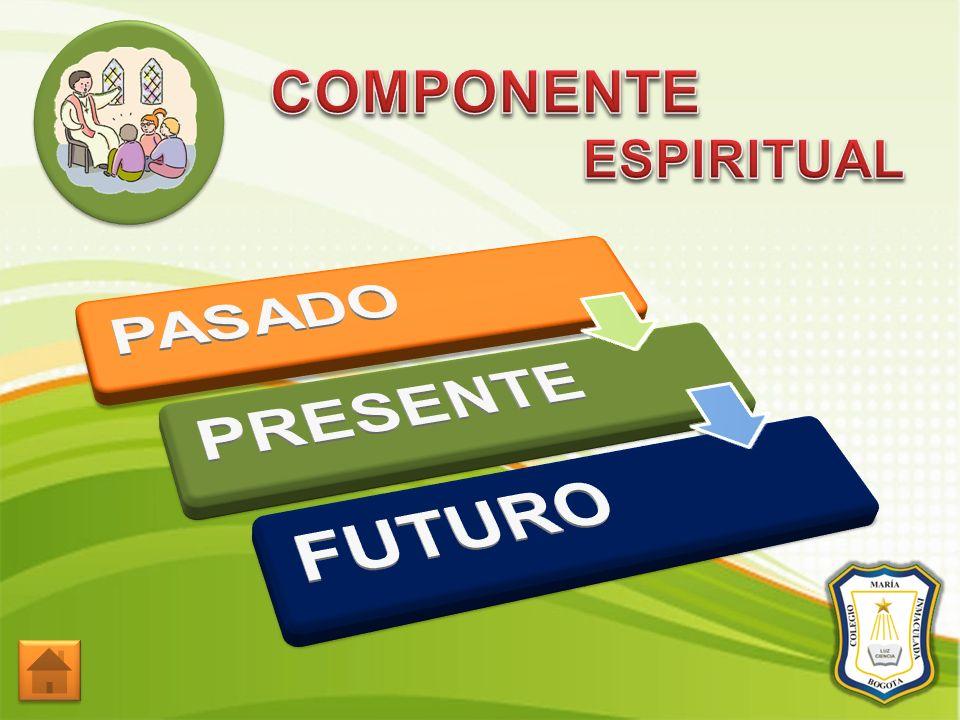 COMPONENTE ESPIRITUAL PASADO PRESENTE FUTURO