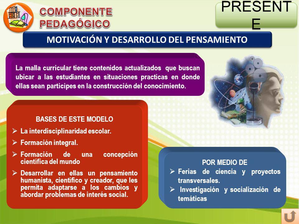 MOTIVACIÓN Y DESARROLLO DEL PENSAMIENTO