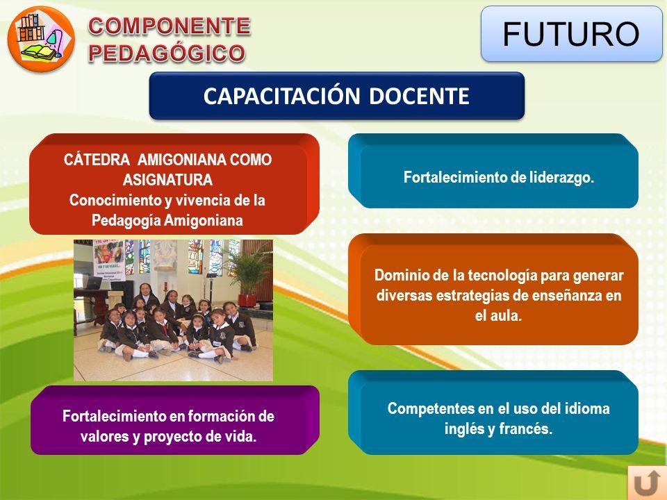 FUTURO CAPACITACIÓN DOCENTE COMPONENTE PEDAGÓGICO