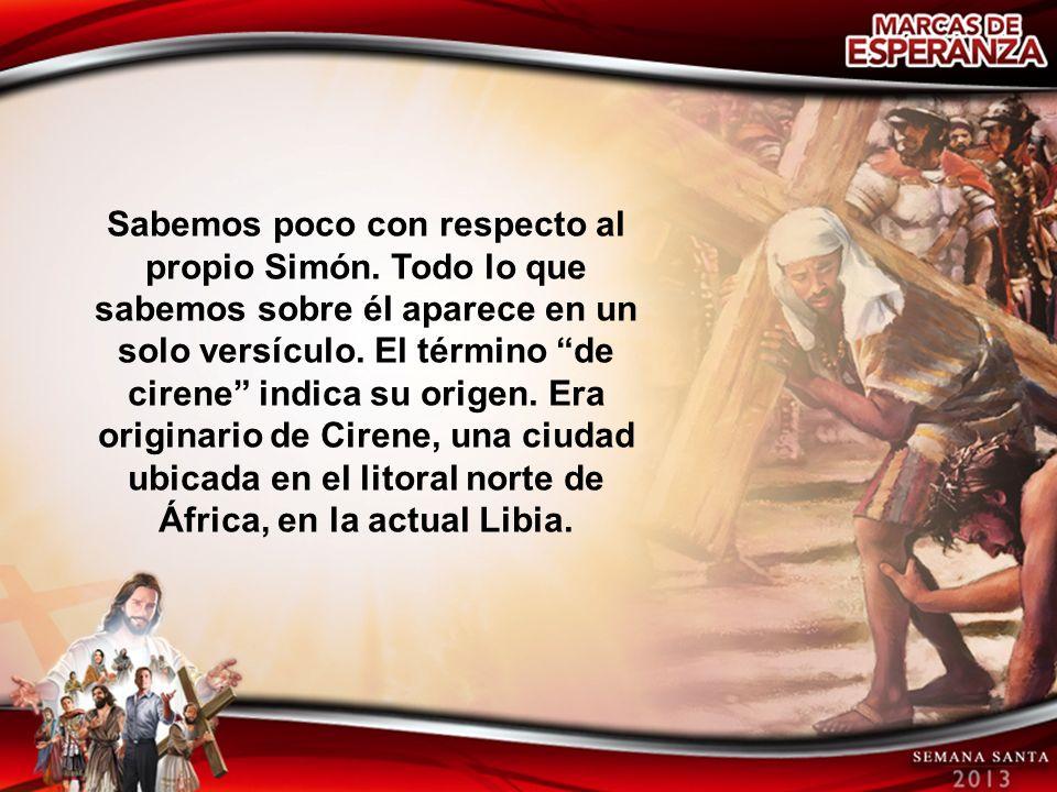 Sabemos poco con respecto al propio Simón