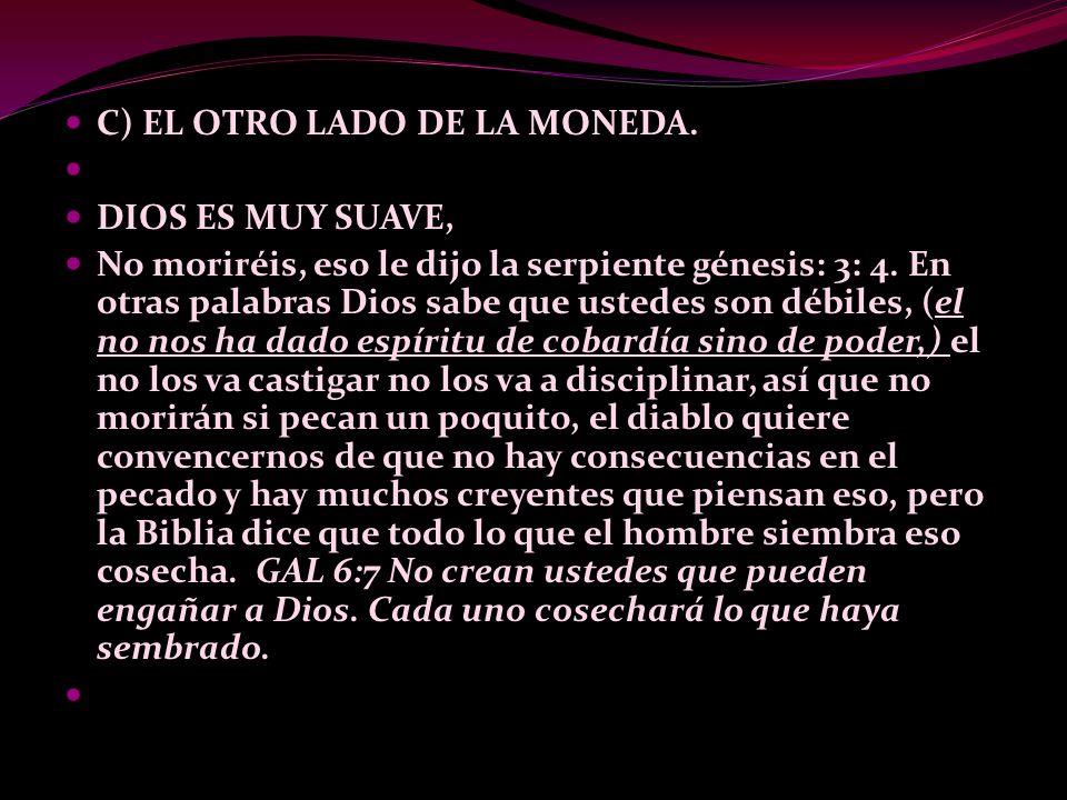 C) EL OTRO LADO DE LA MONEDA.