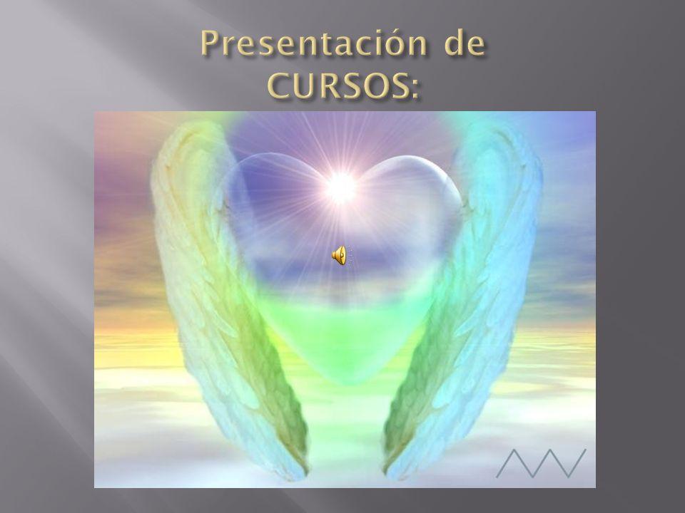 Presentación de CURSOS: