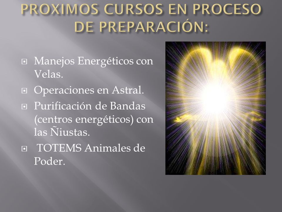 PROXIMOS CURSOS EN PROCESO DE PREPARACIÓN: