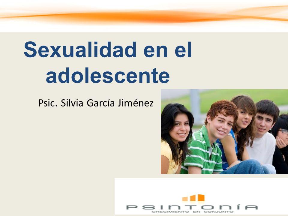 Sexualidad en el adolescente