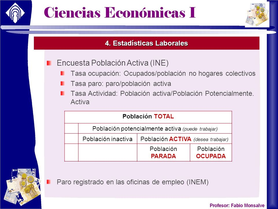 4. Estadísticas Laborales