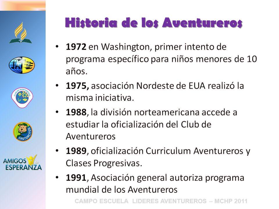 Historia de los Aventureros