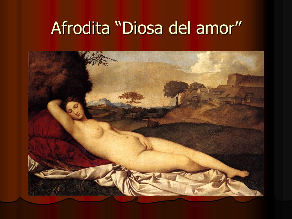 Afrodita Diosa del amor