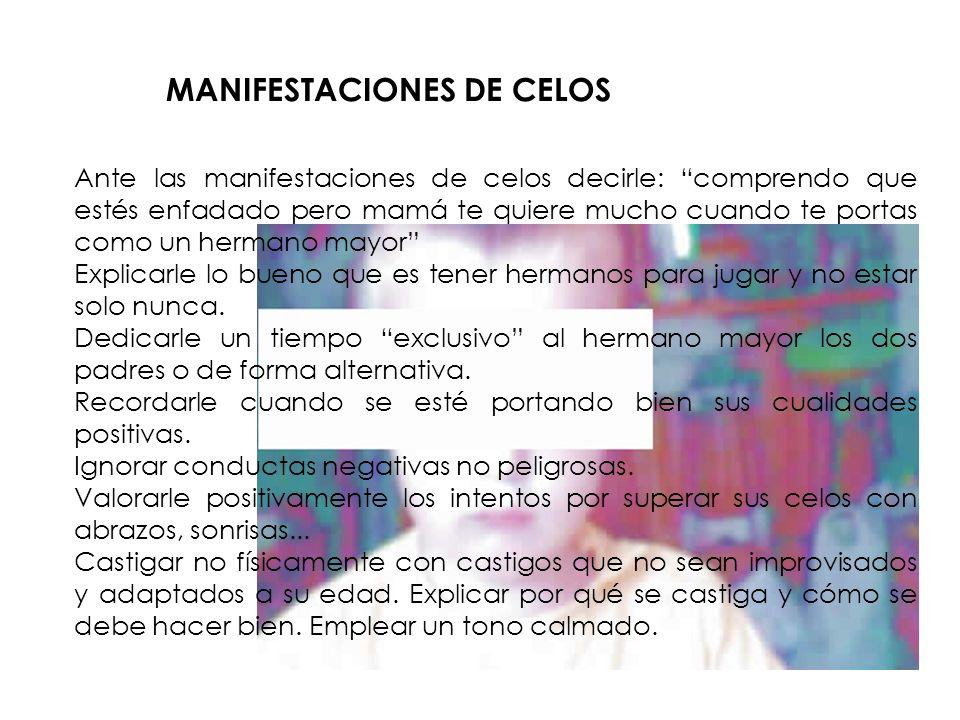 MANIFESTACIONES DE CELOS