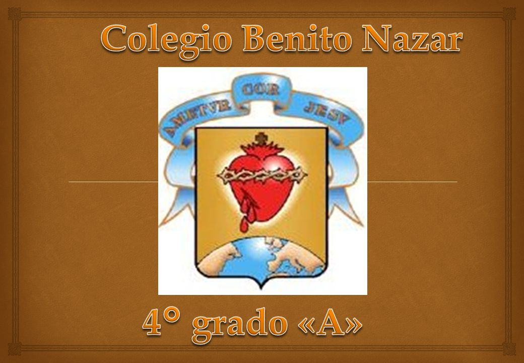 Colegio Benito Nazar 4° grado «A»