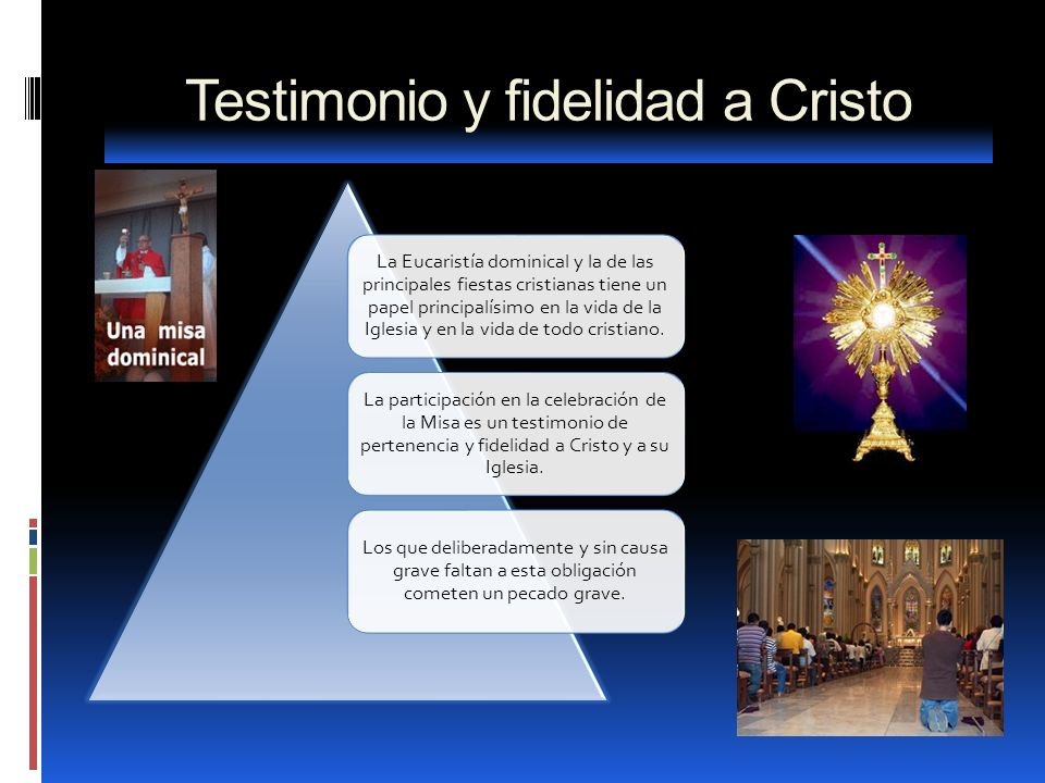 Testimonio y fidelidad a Cristo