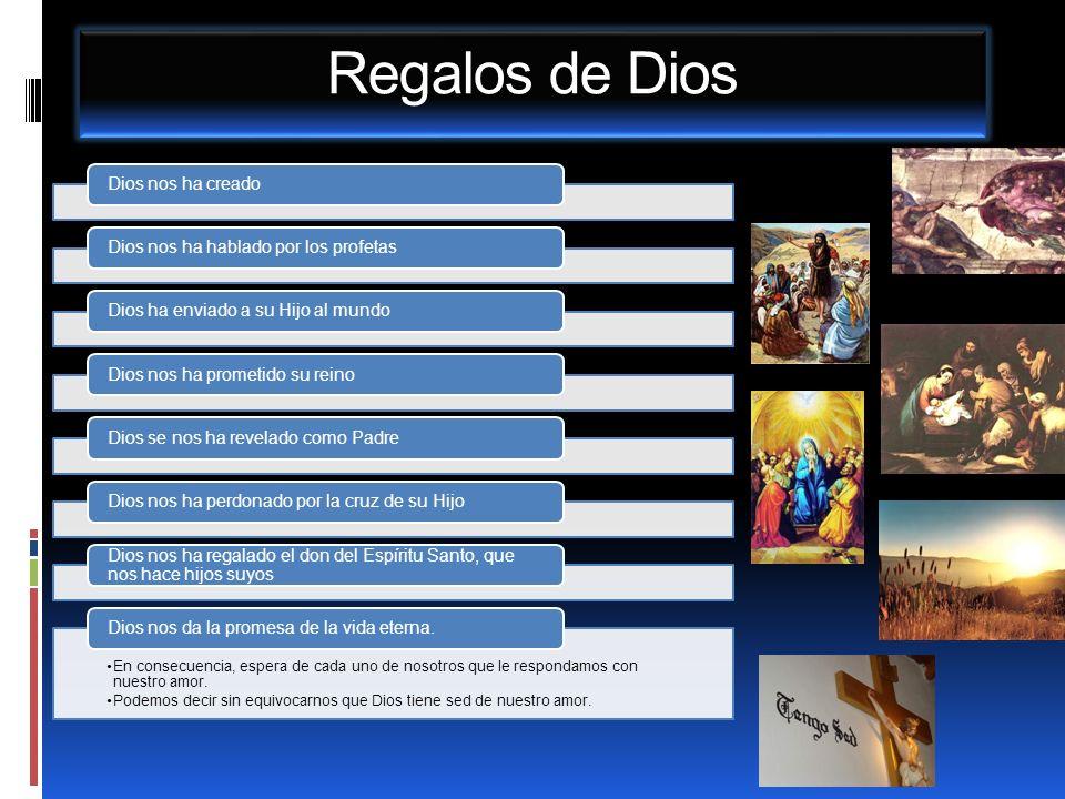 Regalos de Dios Dios nos ha creado