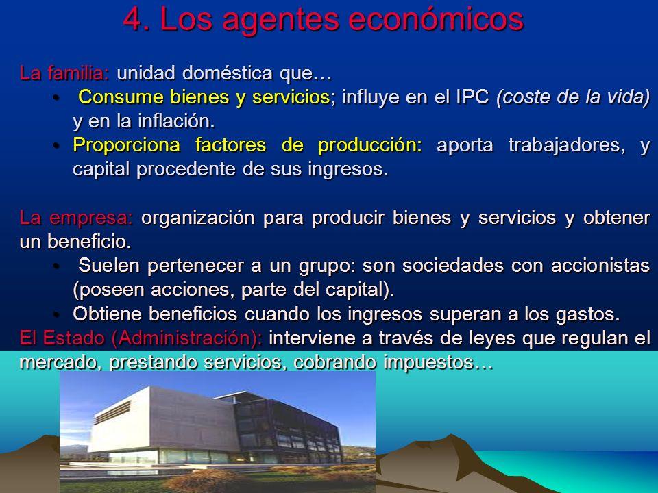 4. Los agentes económicos