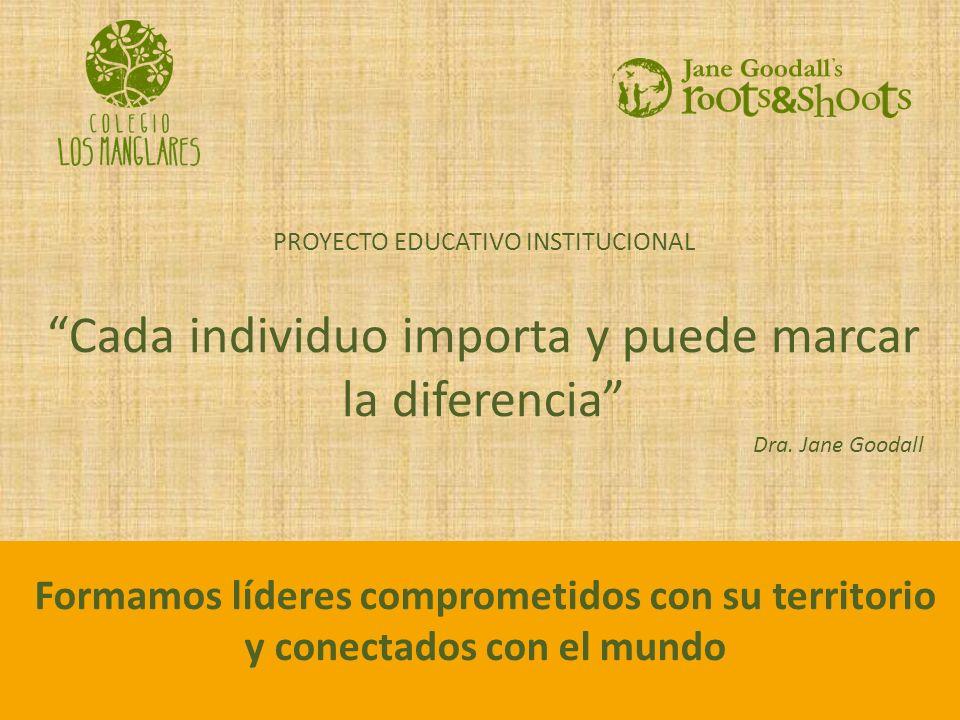 Cada individuo importa y puede marcar la diferencia