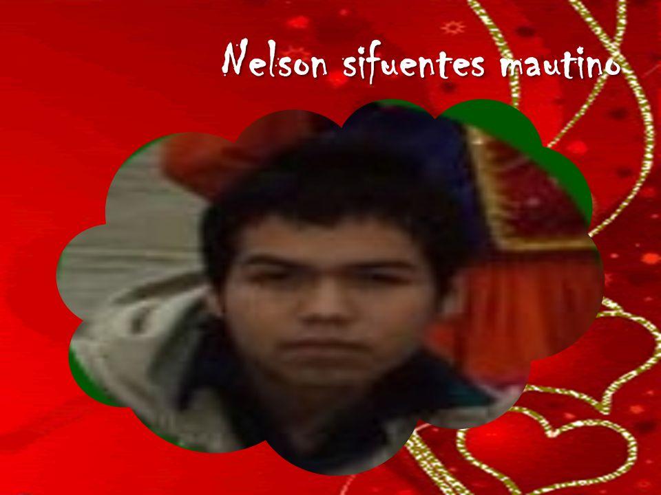 Nelson sifuentes mautino