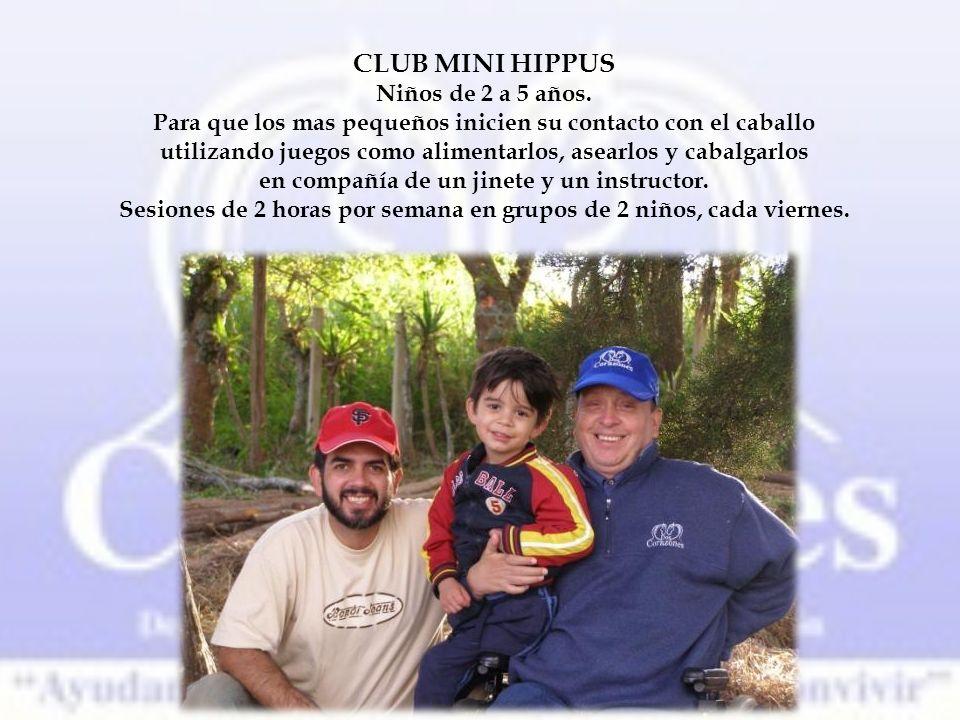 CLUB MINI HIPPUS Niños de 2 a 5 años