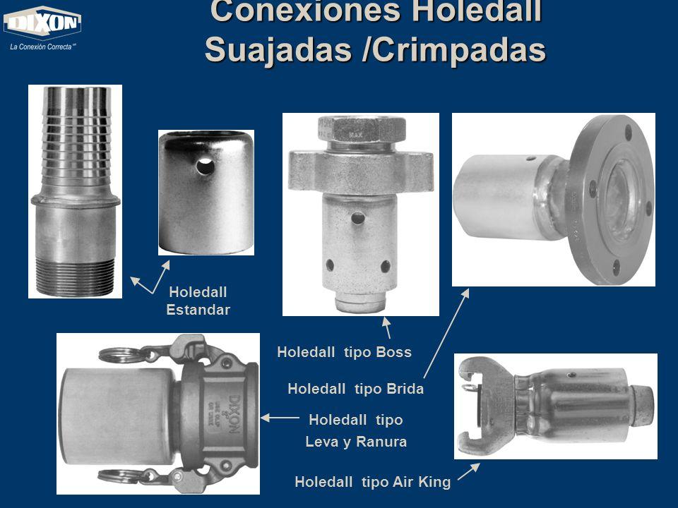 Conexiones Holedall Suajadas /Crimpadas