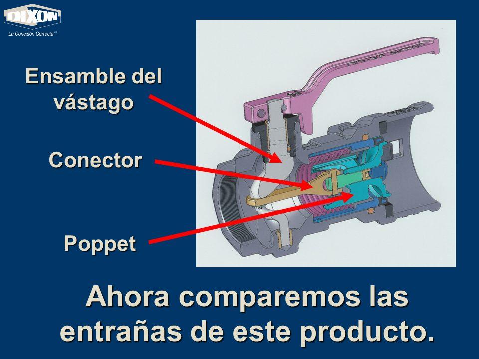 Ahora comparemos las entrañas de este producto.