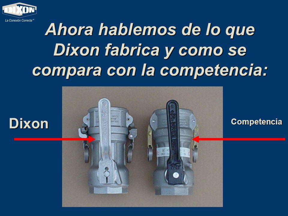 Ahora hablemos de lo que Dixon fabrica y como se compara con la competencia: