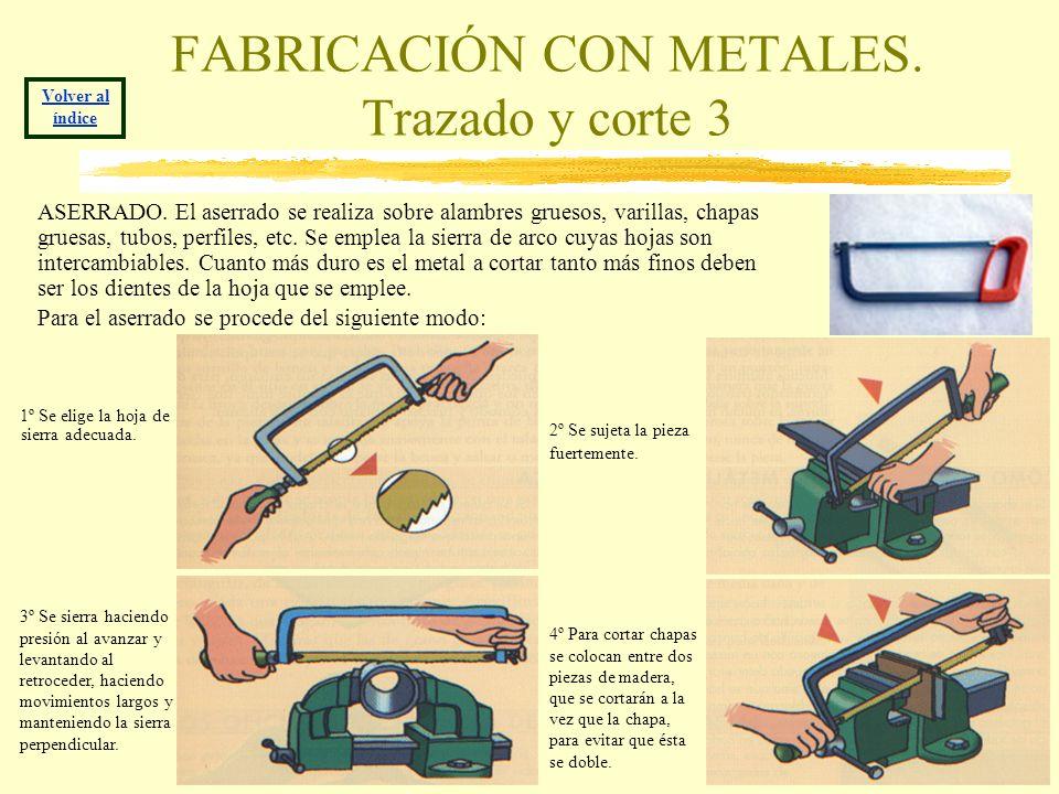 FABRICACIÓN CON METALES. Trazado y corte 3