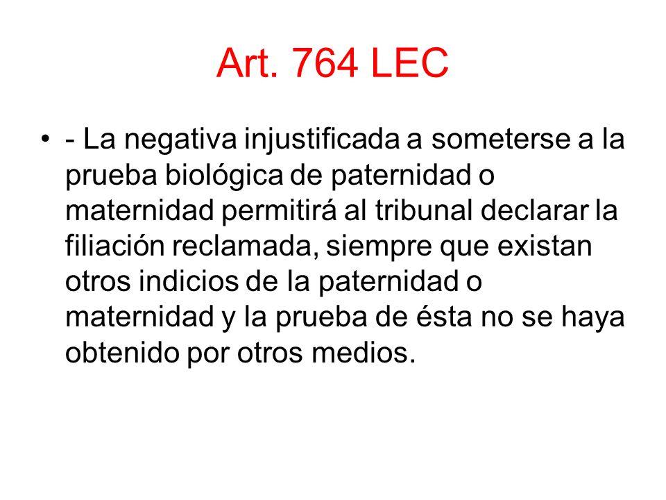 Art. 764 LEC