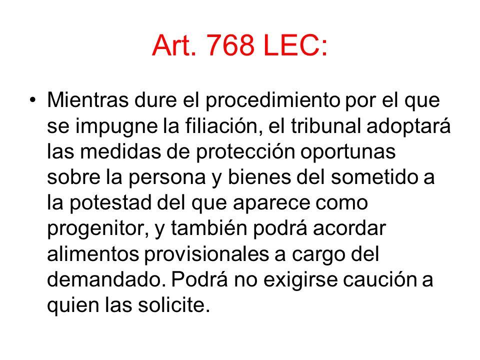 Art. 768 LEC: