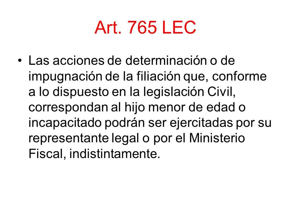 Art. 765 LEC