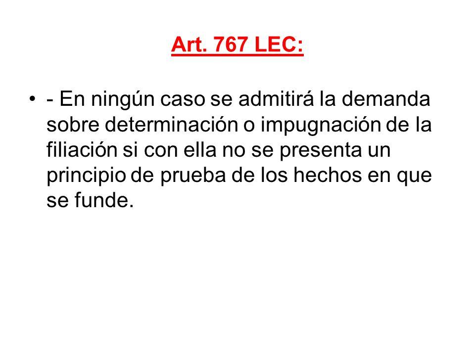 Art. 767 LEC:
