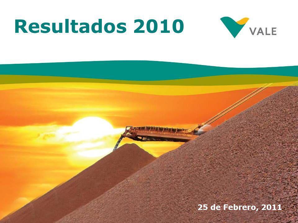 Resultados 2010 25 de Febrero, 2011