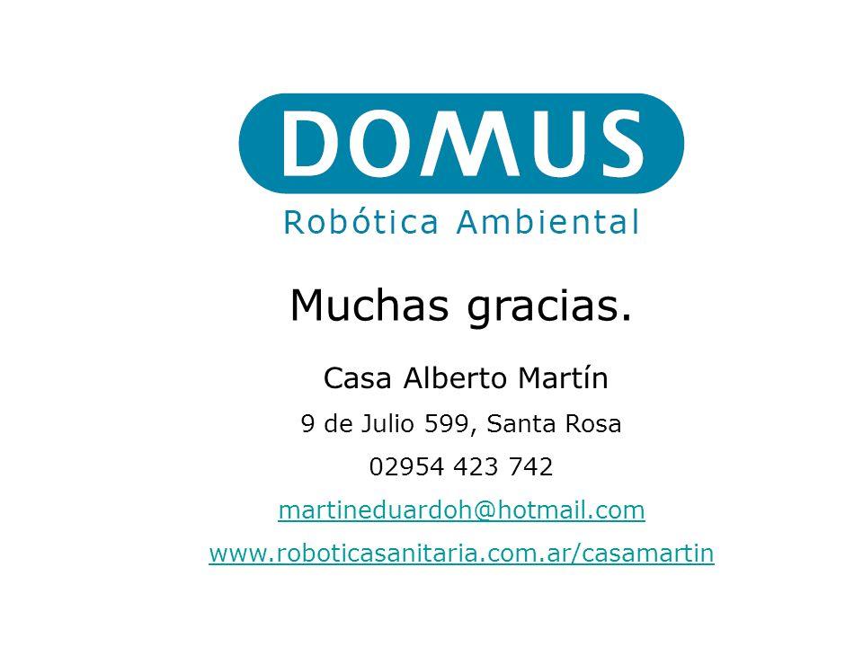 Muchas gracias. Casa Alberto Martín 9 de Julio 599, Santa Rosa