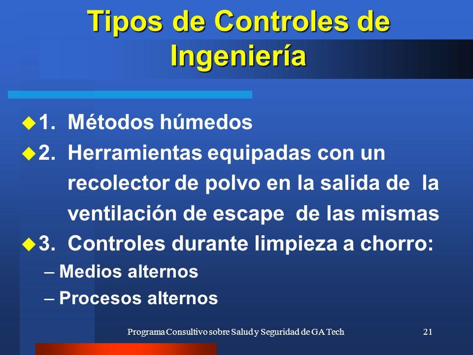 Tipos de Controles de Ingeniería