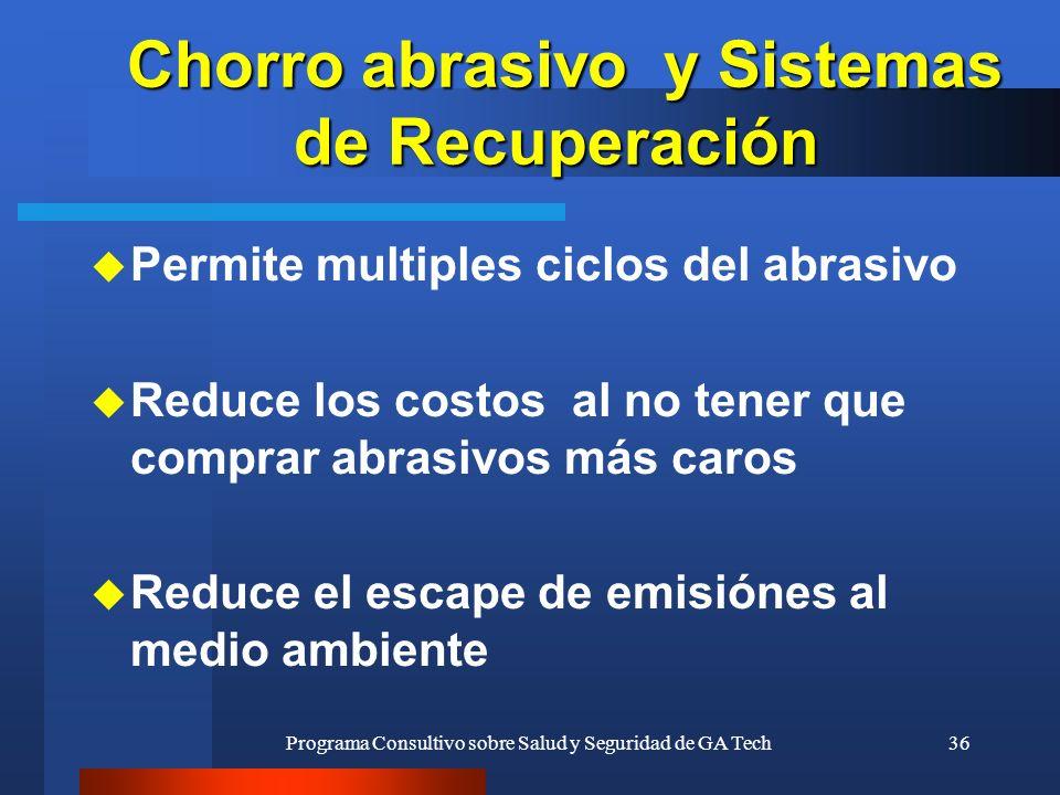 Chorro abrasivo y Sistemas de Recuperación