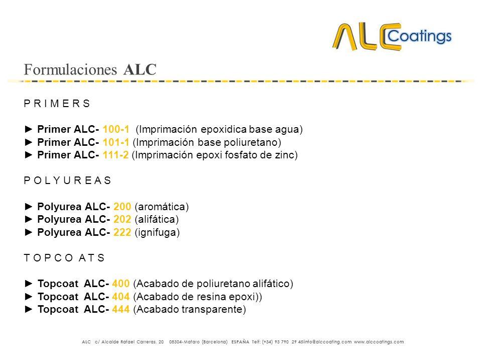 Formulaciones ALC P R I M E R S