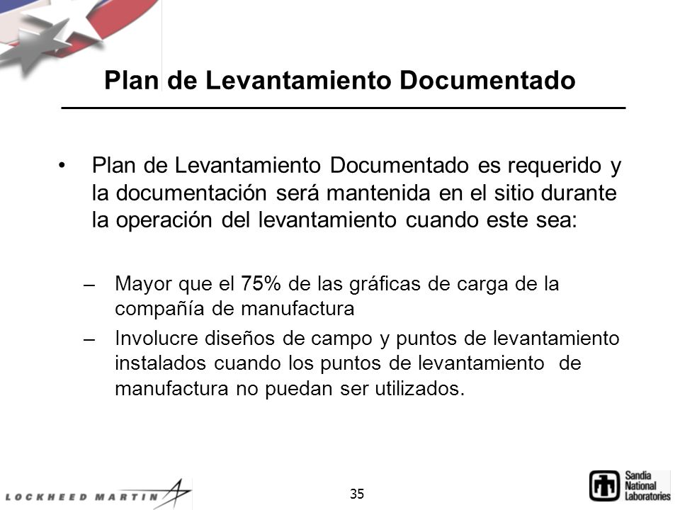 Plan de Levantamiento Documentado