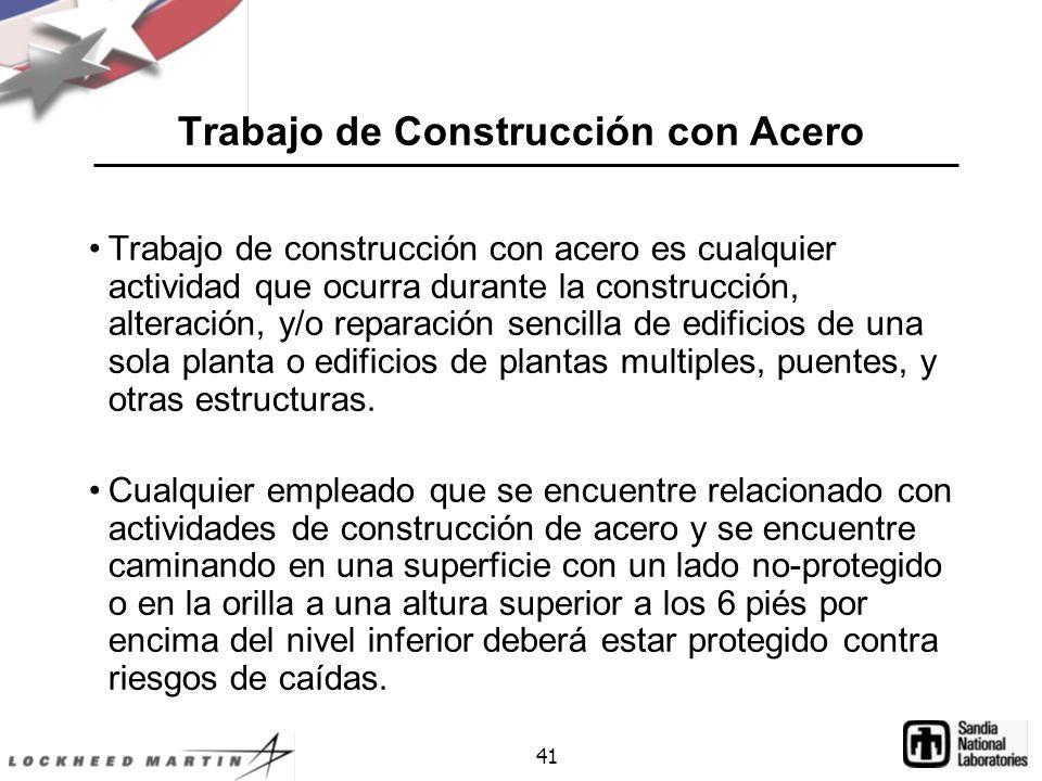 Trabajo de Construcción con Acero
