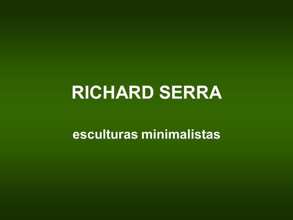 esculturas minimalistas