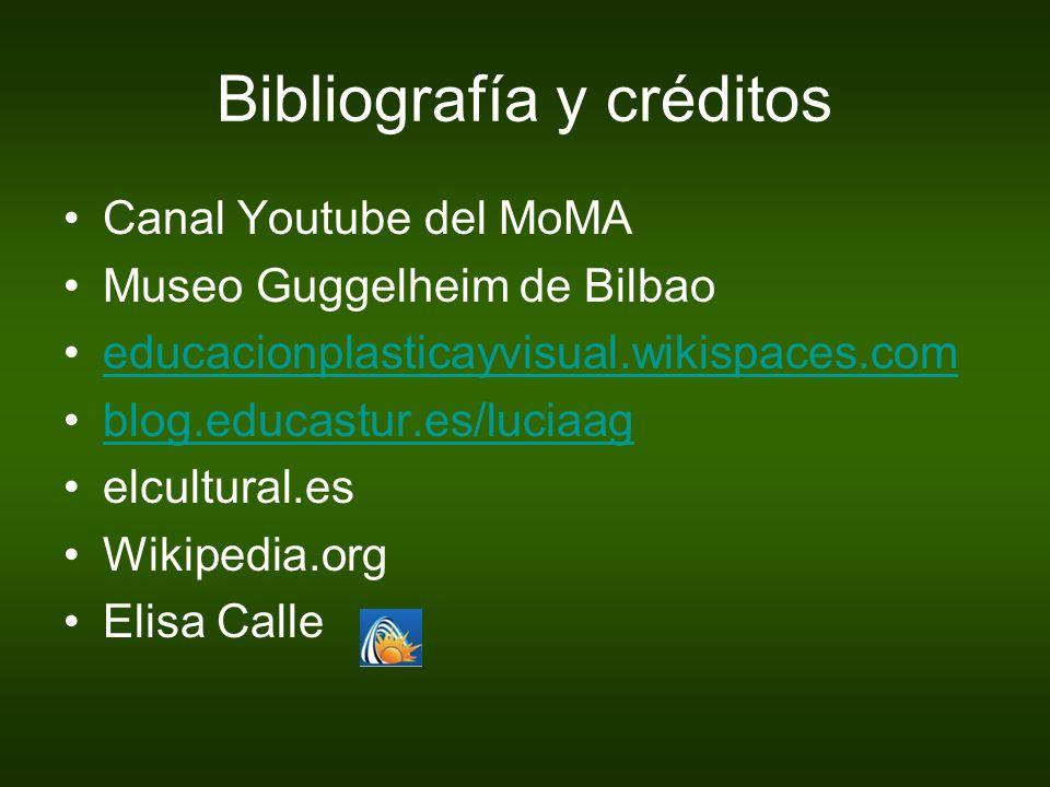 Bibliografía y créditos