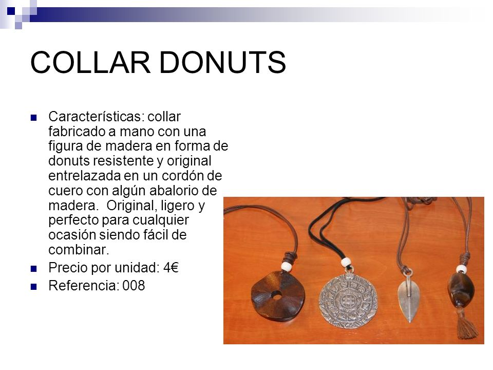 COLLAR DONUTS