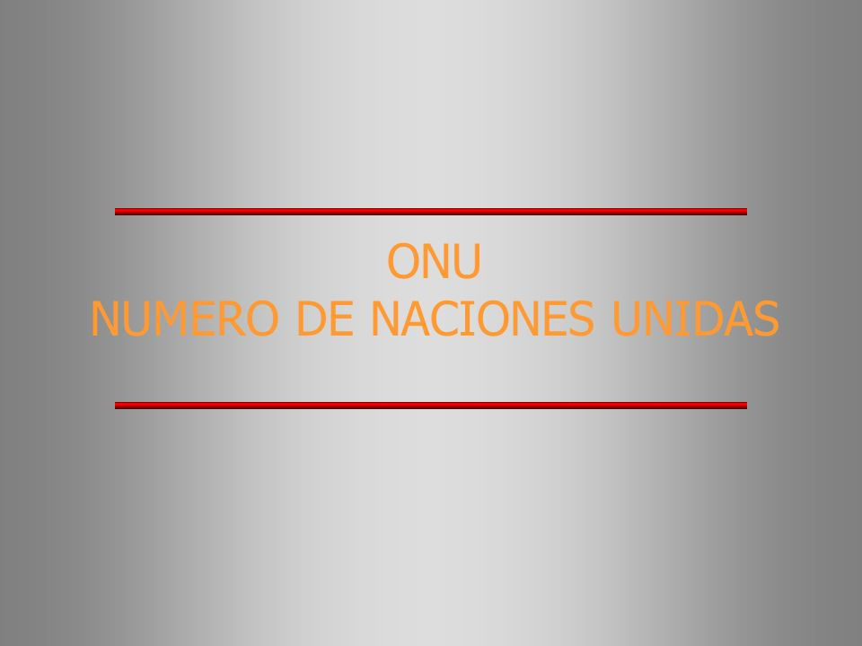NUMERO DE NACIONES UNIDAS