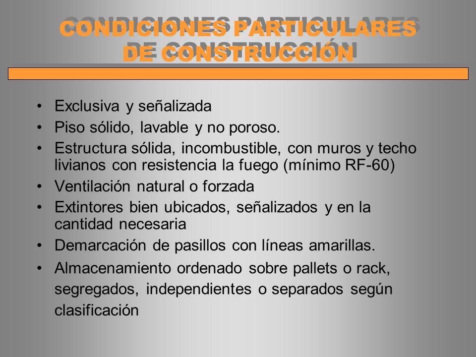 CONDICIONES PARTICULARES DE CONSTRUCCIÓN