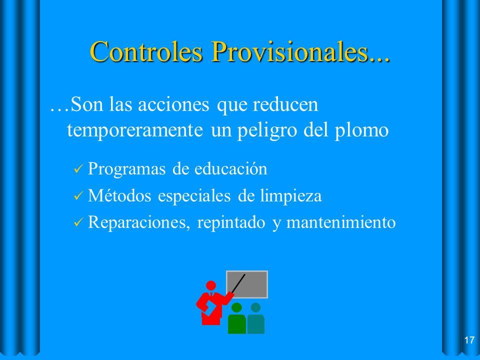 Controles Provisionales...