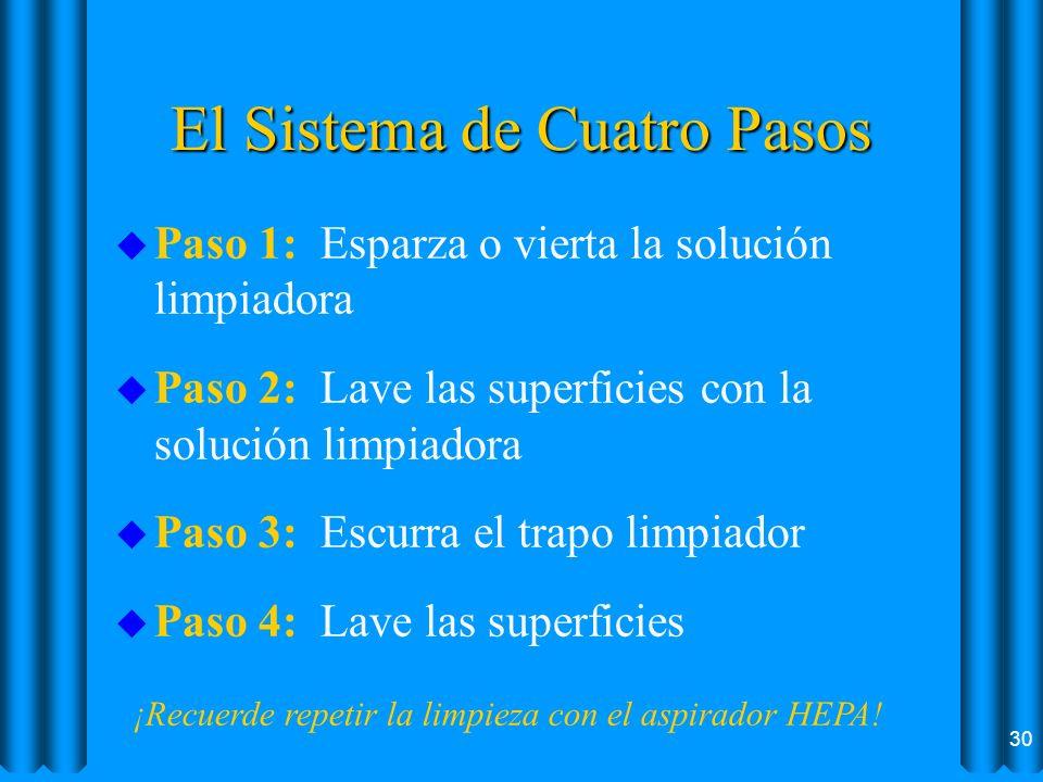 El Sistema de Cuatro Pasos