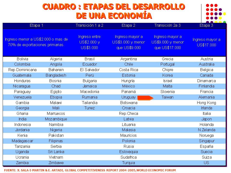 CUADRO : ETAPAS DEL DESARROLLO