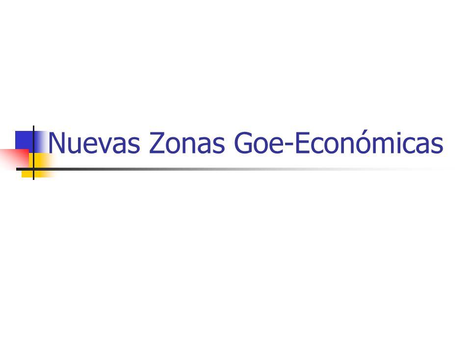 Nuevas Zonas Goe-Económicas