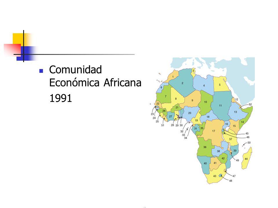 Comunidad Económica Africana