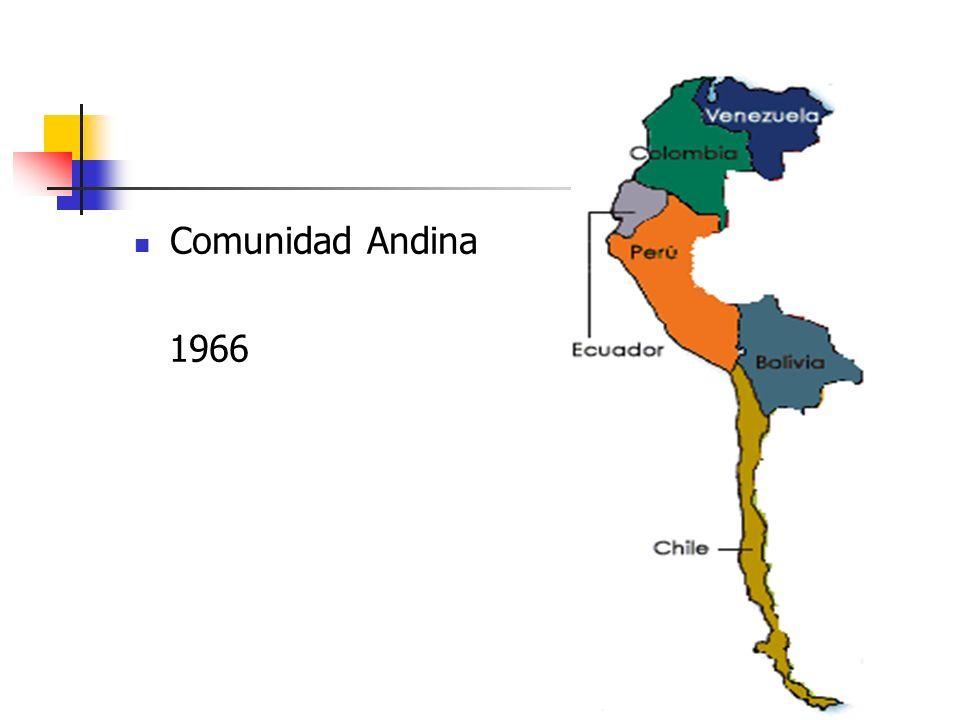 Comunidad Andina 1966