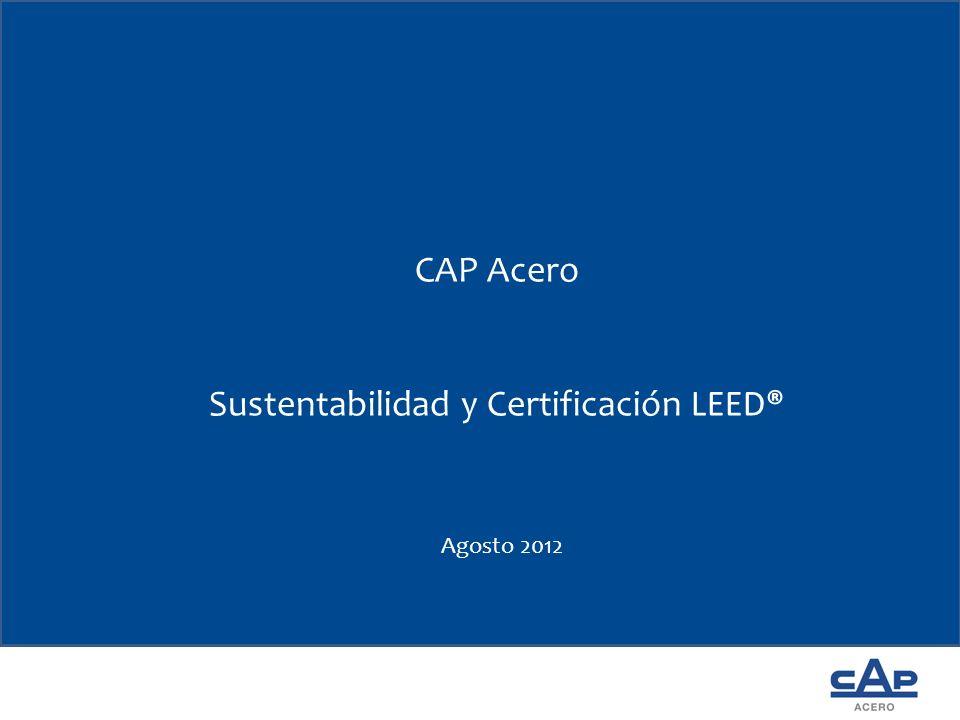 Sustentabilidad y Certificación LEED®