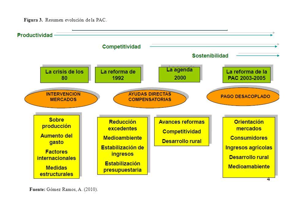 Figura 3. Resumen evolución de la PAC.